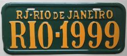 - Plaque Décorative, Style Plaque D'immatriculation. Rio De Janeiro - - Non Classificati