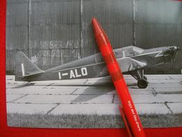 FOTOGRAFIA  AEREO SLIN XII   I-ALO MATRICOLA INCOMPLETA - Aviazione