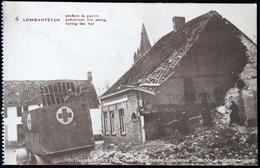 Lombardsijde Lombartzyde - Ambulance Tijdens De Oorlog Ambulance Pendant La Guerre Ambulance During The War - Middelkerke