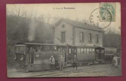 010620A - 51 VERZENAY La Gare - Collection Francinet  G Franjon Photo - Train Chemin De Fer Conducteur Cheminot - France