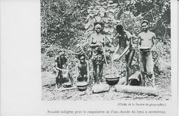 Auguste Béchaud (ou Suiveur De) - Procédé Indigène Pour La Coagulation De L'eau Chaude Du Latex à Caoutchouc - - Französisch-Kongo - Sonstige