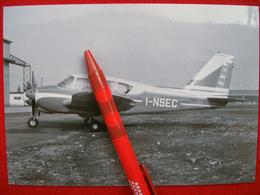 FOTOGRAFIA  AEREO PIPER PA-23-250 AZTEC    I-NSEC - Aviazione