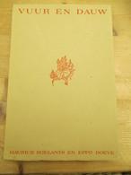 Vuur En Dauw Moerice Roelants Eppo Doeve 1965 Kongo Korea - Poésie