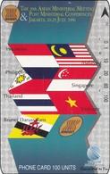 Indonesien Phonecard Tamura 29th ASIAN Post Meeting - Indonesië