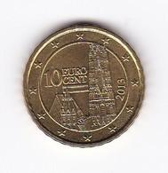 2013 EURO 0,10 - Autriche