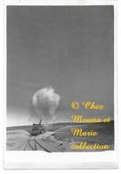 OBUSIER 520 MM SCHNEIDER SUR VOIE FERREE - OBUS VISIBLE SUR LA PHOTO - PHOTO 13*8.5 CM MILITAIRE - Guerre, Militaire
