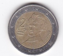2013 EURO 2,00 - Autriche