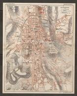 CARTE PLAN 1927 - SAINT ÉTIENNE - GARE Du CLAPIER Éts SOURDS MUETS MANUFACTURE NATIONALE D'ARMES - Topographical Maps