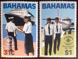 Bahamas 1983 Customs Cooperation Aircraft Aviation MNH - Bahamas (1973-...)