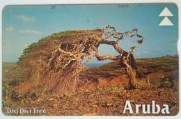 Aruba 20 Units Divi-divi Tree 511A - Antilles (Neérlandaises)