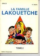 La Famille Lakouetche Tome 2  Genclo& Maric  +++BE+++ LIVRAISON GRATUITE - Books, Magazines, Comics