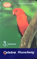 AUSTRALIE  -  Telstra  - Prepaid -  King Parrot  -  $ 20 - Australia