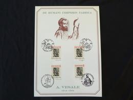 "BELG.1993 2527 Filatelic Card :  "" Vesalius / Vésale "" - FDC"
