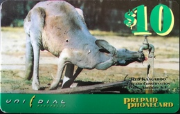 AUSTRALIE  -  Prepaid  -  UNIDIAL  -  Red Kangaroo  -  $ 10 - Australië