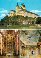 4 AK Niederösterreich * 4 X Stift Melk - Außen- Und Innenaufnahmen - Gegründet 1089 Und Seit 2000 UNESCO Weltkulturerbe - Melk
