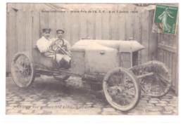 NAUDIN SUR VOITURE SIZAIRE ET NAUDIN LE 6 ET 7 JUILLET 1908 - France
