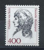 Allemagne RFA N°1414** (MNH) 1992 - Femme De L'histoire Allemande - Neufs