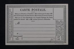 FRANCE - Carte Précurseur Non Circulé - L 61877 - Postal Stamped Stationery