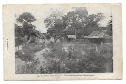 CONGO -FRANCAIS -  Factorerie Inondée Aux Bautes - Eaux - Französisch-Kongo - Sonstige