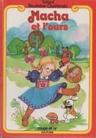 MACHA ET L'OURS ROUGE ET OR DAUPHINE - Bibliothèque Rouge Et Or