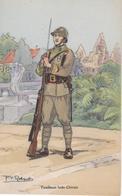 TIRAILLEURS INDO-CHINOIS  ILLUSTRATEUR P V ROBIQUET - Uniformen