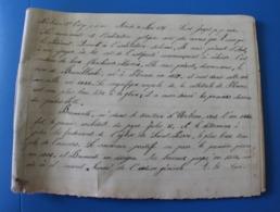 1875 St Joseph-P.P.Eux..Manuscrit Document Historique--Cahier D'école De -Cécile De Bernardi...éducation Religieuse Chr - Other Collections