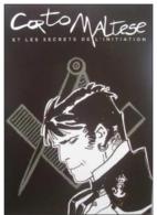 Corto Maltese - CARTE D'exposition Inédite HUGO PRATT à Paris En 2012 - Franc Maçonnerie (Freemasonry) - Postcards
