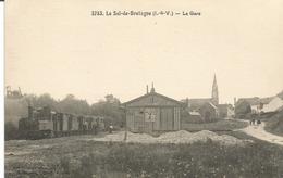 LE SEL DE BRETAGNE. La Gare Du Tramway. - Francia