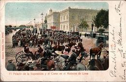 ! Alte Ansichtskarte Lima, Peru, 1903 - Peru