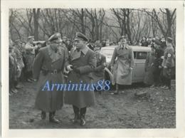 NSDAP - Gauleiter Josef Bürckel - Nikolaus Selzner - Rudolf Röhrig - Jakob Knissel - Kirchberg (Landstuhl) - 1938 - Guerre, Militaire