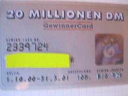 Carte De Credit Tous Pays - Carte Di Credito (scadenza Min. 10 Anni)