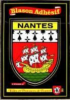 [44] Loire Atlantique > Nantes /   Ecusson Blason Autocollant : / LOT 4064 - Nantes