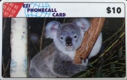 AUSTRALIE  -  Phonecard  - EZI PHONECALL CARD  -  Koala  -  $ 10 - Australië