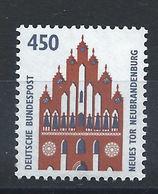 Allemagne RFA N°1453** (MNH) 1992 - Nouveau Portail à Neubrandenburg - Neufs