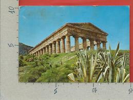 CARTOLINA VG ITALIA - SEGESTA (TP) - Il Tempio - 10 X 15 - 1973 - Trapani