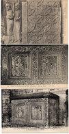 SAINT GUILHEM LE DESERT - 3 CPA - Autel De Marbre - Ancien Autel - Ornements Et Statue  (1405 ASO) - France