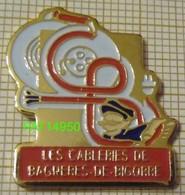 Les Cableries De BAGNERES DE BIGORRE   CABLE ELECTRIQUE ELECTRICITE - Pin's