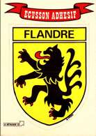 France > Régions > Nord/ FLANDRE  /  Ecusson Blason Autocollant : / LOT 4064 - Nord-Pas-de-Calais