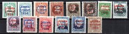 Serie Incompleta  Nº1/18 Faltan (4-12-16-17) Patrioticos De San Sebastian - Emissioni Repubblicane