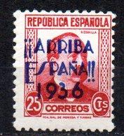 Sello Patriotico   Nº 11  De San Sebastian - Emisiones Repúblicanas