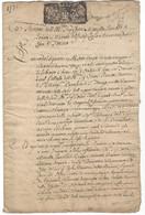 TESTAMENT 1735  Marcello Gamba  Seigneur Comte De ROATTO MARETTO  ( Région Asti - Piémont - Notaires Turin TORINO ) - Documents Historiques