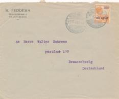 Nederlands Indië - 1923 - 20 Op 22,5 Cent Wilhelmina Op Cover Van LB WELTEVREDEN/TANAHABANG Naar Braunschweig - Netherlands Indies