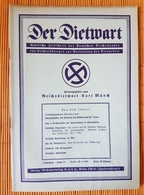 Der Dietwart, 1. Jahrgang Folge 24, 20.4.1936 - German