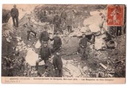 Bombardement De Bergues - Les Magasins De Vins Delegher - édit. Visé 7 + Verso - Bergues