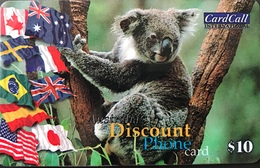 AUSTRALIE  -  Prepaid  -  CardCall  -  Koala  -  $ 10 - Australië