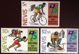 Nevis 1982 Scouts MNH - St.Kitts E Nevis ( 1983-...)