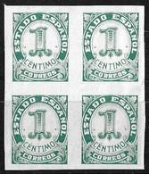 España 1937-40 Edifil  814  Bl4 ** Mnh - 1931-Hoy: 2ª República - ... Juan Carlos I