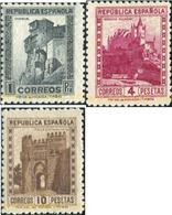 Ref. 618922 * HINGED * - SPAIN. 1938. MONUMENTS AND AUTOGIRO . MONUMENTOS Y AUTOGIRO - 1931-Hoy: 2ª República - ... Juan Carlos I