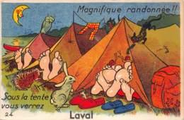 53 - MAYENNE - LAVAL - 10046 - Carte à Système à Dépliant - - Laval