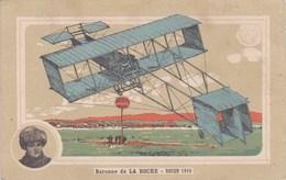 AVIATION Rouen 1910 Baronne De La Roche - Aviateurs